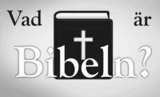Veckans utmaning: Vad är Bibeln?