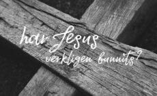 Veckans utmaning: Har Jesus verkligen funnits?