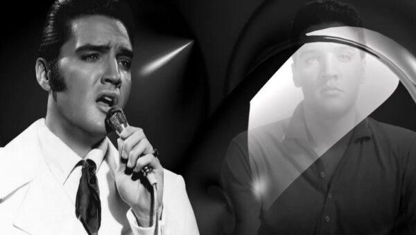 Elvis Presley från USA sjunger gospel